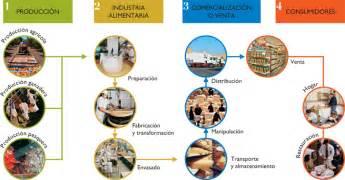 cadena trofica que pueda presentarse en la ciudad punto aparte la materia prima en la agroindustria