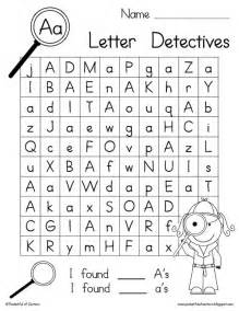 letter detectives printable a z letter searches search