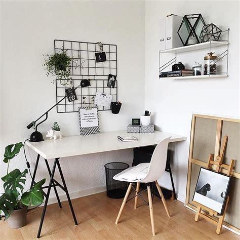 Ikea Instagram by White Workspace With Ikea Bars 246 Grid Board Via