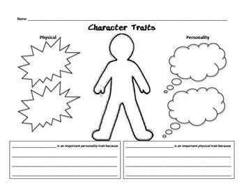 Character Traits 2nd Grade Worksheet