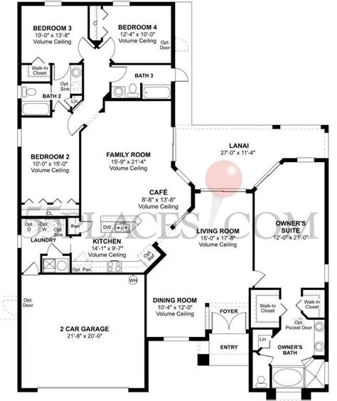 transeastern homes floor plans transeastern homes floor plans awesome martinique floorplan 2294 sq ft ta bay golf and
