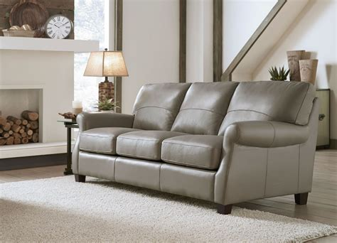 carlyle adobe leather sofa from lazzaro wh 2022 30 3372