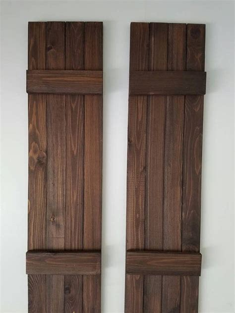 Wooden Shutters 25 Best Ideas About Exterior Wood Shutters On