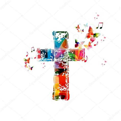 colorful crosses colorful cross background stock vector 169 abstract412