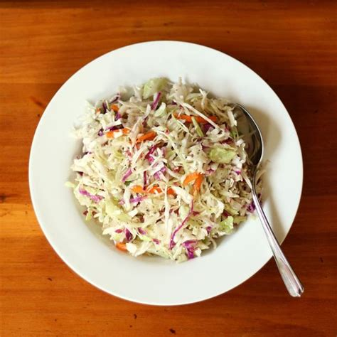 vinegar cole slaw just made it tonight to go with our pulled pork sandwiches very different