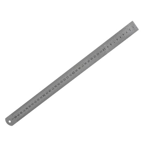 As Stainless 201 1 14 Diameter 32 Mm Panjang 500 Mm stainless steel 16 inch ruler measuring kit metric 40cm lw