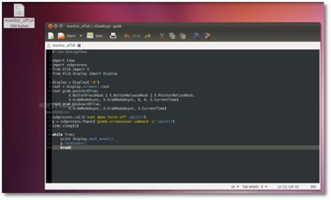 linux xlib tutorial easily turn off lcds with a shortcut key in ubuntu
