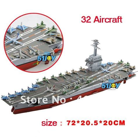 How To Make A Paper Aircraft Carrier - diy uss ford aircraft carrier paper model children s
