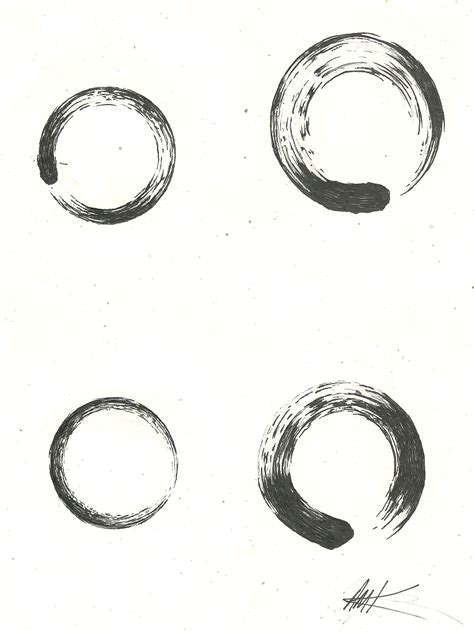 circle tattoo design 12 zen enso circle tattoos designs