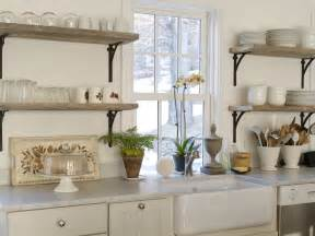 wall shelves for kitchen refresheddesigns trend to try open shelving in the kitchen