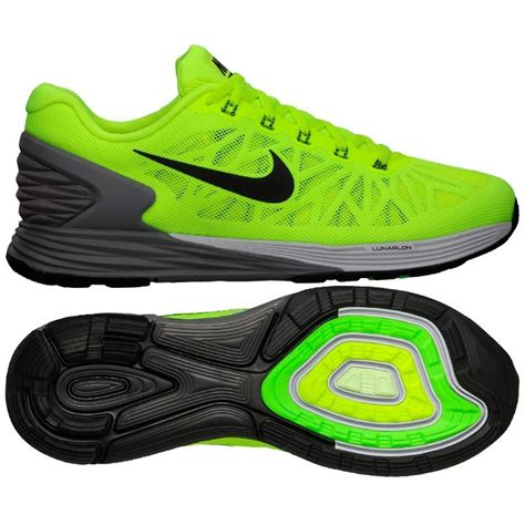 neon green nike shoes neon green anthracite nike lunarglide 6 shoes for