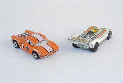 Metal Diecast lot of 6 vintage metal diecast matchbox cars parts or restoration 7330180 contemporary
