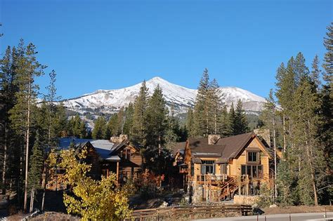 breckenridge homes colorado ski in ski out golf cabins for