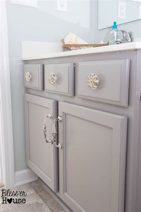 painting a bathroom vanity white the beginner s guide to painting cabinets