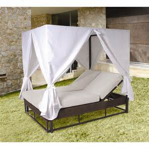 Patio Daybeds For Sale by Hospitality Rattan Soho Patio Daybed With Cushion