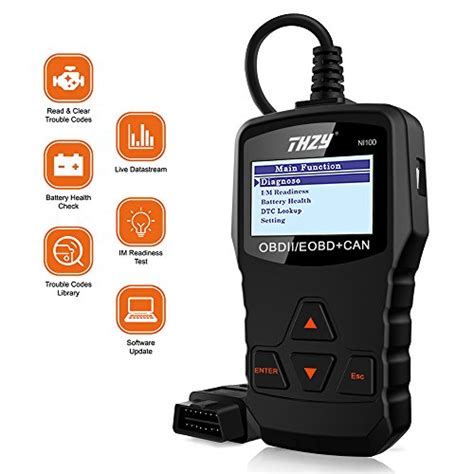obd diagnostic scanner thzy ni universal diagnostic scan tool car engine fault code reader