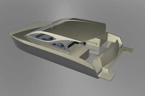 rc wooden catamaran kit diy  plans  wood
