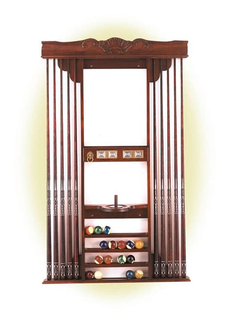 Olhausen Cue Rack by Olhausen Dona Deluxe Cue Rack