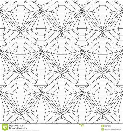seamless pattern diamond monochrome diamond seamless pattern stock images image