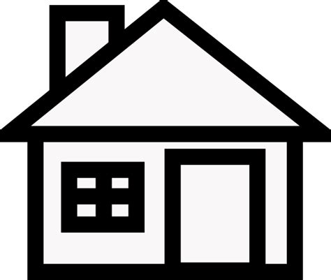 house clip art  clkercom vector clip art