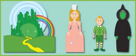 haircut short story characters the wizard of oz story character cut outs wizard of oz