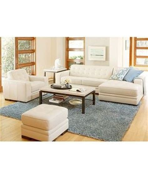 Leather Living Room Sets From Macys Http Www1 Macys Shop Product Leather Sectional