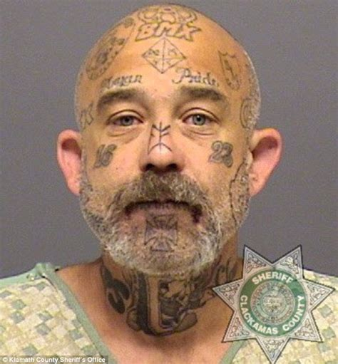 oregon white supremacist s mugshots show growing