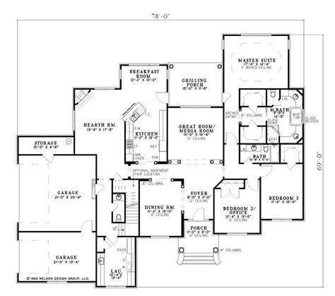 nelson design group home plans 717 birchwood lane nelson design group