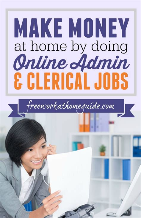 Working Online From Home Jobs - make money at home by doing online administrative assistant jobs