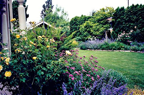 english mixed border cottage gardens mount hood gardens