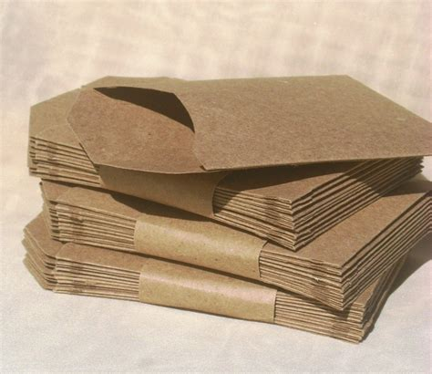Craft Paper Envelope - kraft paper pocket envelopes must make craft ideas