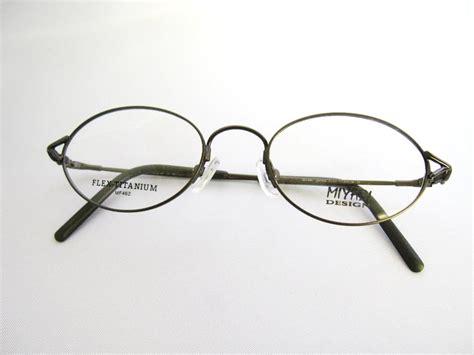 miyabi classic flex titanium eyeglasses frame optics 29 ebay