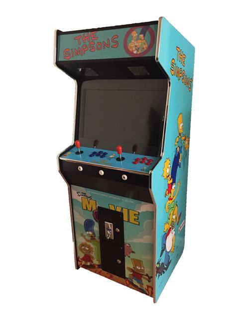 arcade machine sale arcade rewind 3500 upright arcade machine simpsons