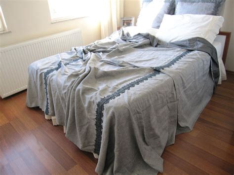 coverlets king size bed grey linen king size bedspread coverlet blanket matching