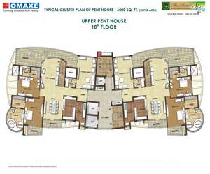 Floor Plans 5000 To 6000 Square Feet by Omaxe Forest
