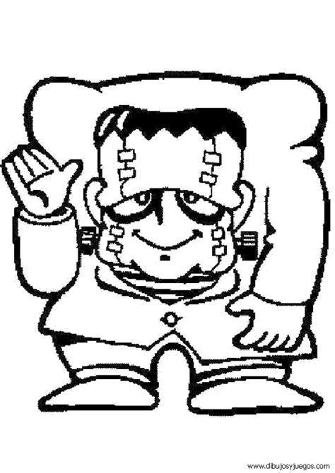 imagenes de juegos para halloween dibujo de halloween frankenstein 034 dibujos y juegos