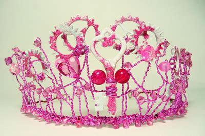 Fins Problue Tiara Pink S 3839 steink tiara steunk with a pink twist by linzi