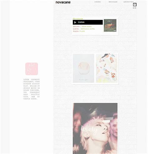 themes tumblr photo blog cixth theme blog
