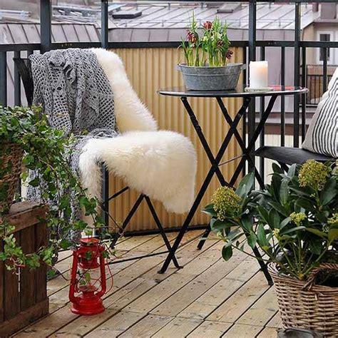 Decorating A Small Balcony by 30 Ideas Para Decorar El Balc 243 N De Tu Casa