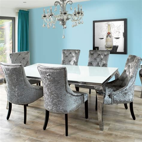 Grey Arm Chair Design Ideas Extraordinary Design Ideas Gray Velvet Dining Chairs Home Design