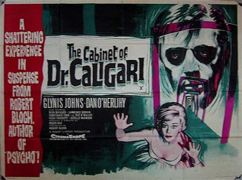 Cabinet Of Dr Caligari Poster by The Cabinet Of Dr Caligari Poster Robert Bloch