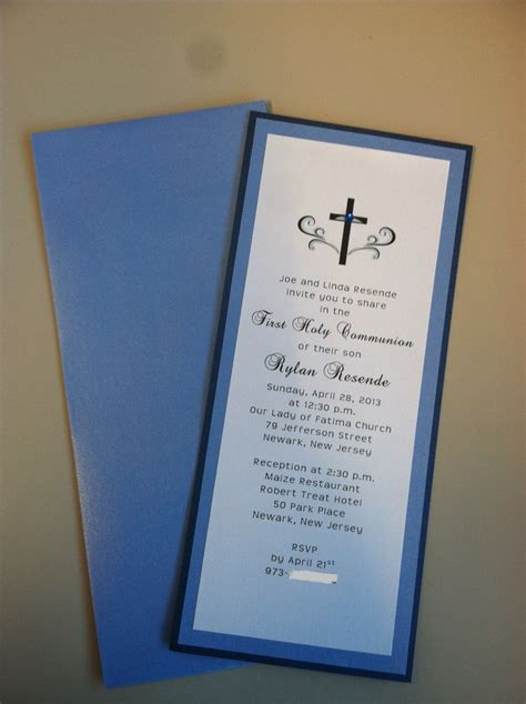 first holy communion invitation first communion invitation 1st communion invitation for boy communion