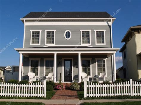 new houses that look like old houses new two story vinyl home built to look like an old