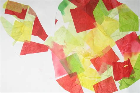 Craft Ideas With Tissue Paper - crafts with tissue paper ye craft ideas