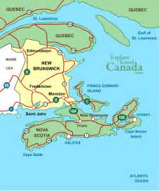 map new brunswick canada map new brunswick canada