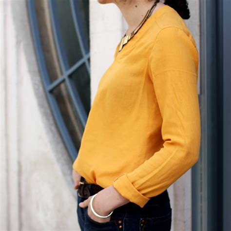 Sanny Blouse by Constance Baraud Blouse