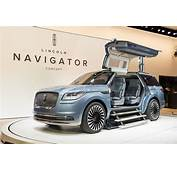 New Lincoln Navigator Concept Revealed  Ford Authority