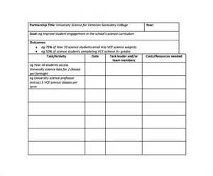 Work Plan Template by Work Plan Template 12 Free Documents For Word
