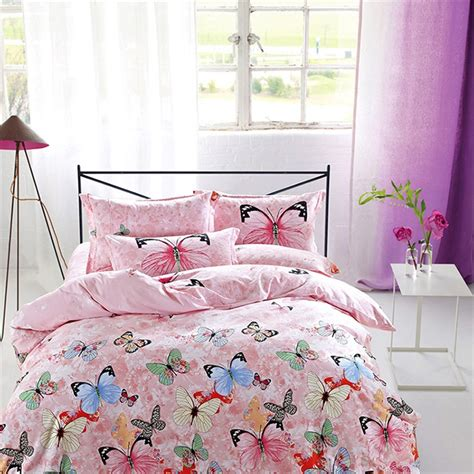 butterfly comforter sets queen size beautiful flowered leaf and butterfly bedding sets queen