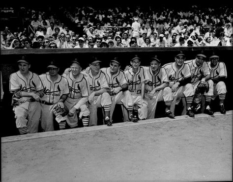 gas house gang lot detail 1950 gashouse gang st louis cardinals at old timer s game quot the sporting